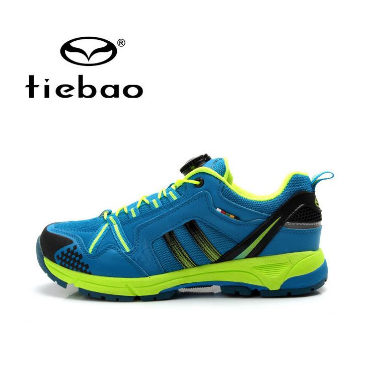 Tiebao Men Cycling Bicycle Shoes Leisure MTB Road Bike Shoes Self-Locking Athletice Riding Shoes zapatillas ciclismo west biking bike chain wheel 39 53t bicycle crank 170 175mm fit speed 9 mtb road bike cycling bicycle crank