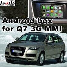 Android GPS навигации коробка для Audi Q7 3 г MMI система видео интерфейс коробка Зеркало Ссылка заднего вида 360 панорама quad Core