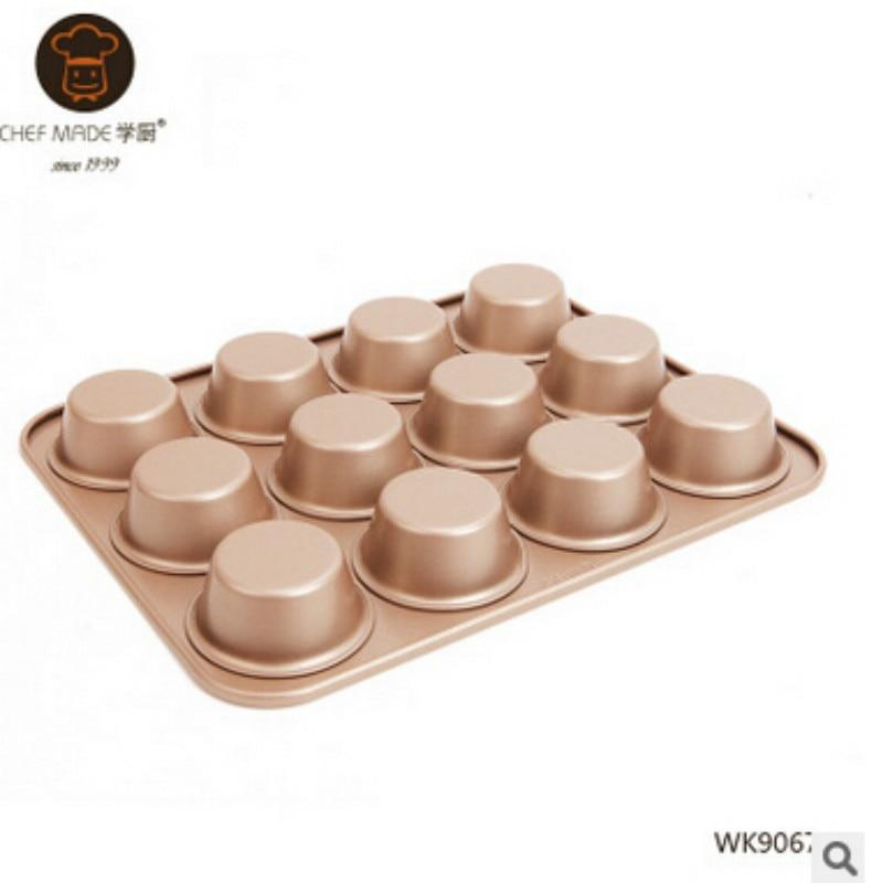 Jednostavne za čišćenje 12 čašica non-stick ljepilo za torte za - Kuhinja, blagovaonica i bar - Foto 2