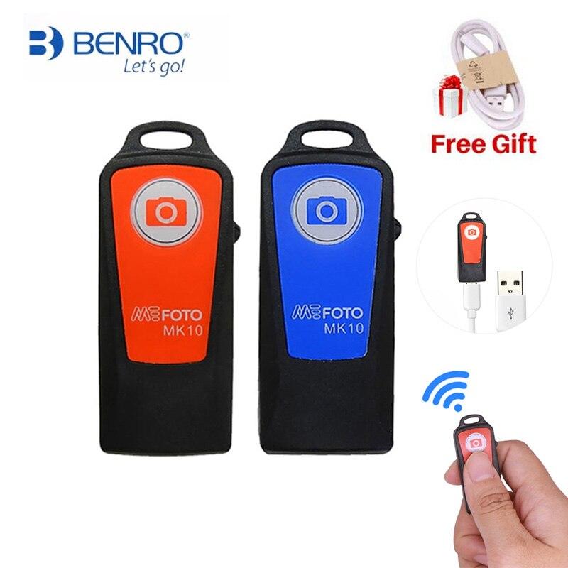 BENRO MK10 Wireless Bluetooth Remote Shutter Controller Handheld Mini Tripod Monopod BENRO MK10 Wireless Bluetooth Remote Shutter Controller Handheld Mini Tripod Monopod