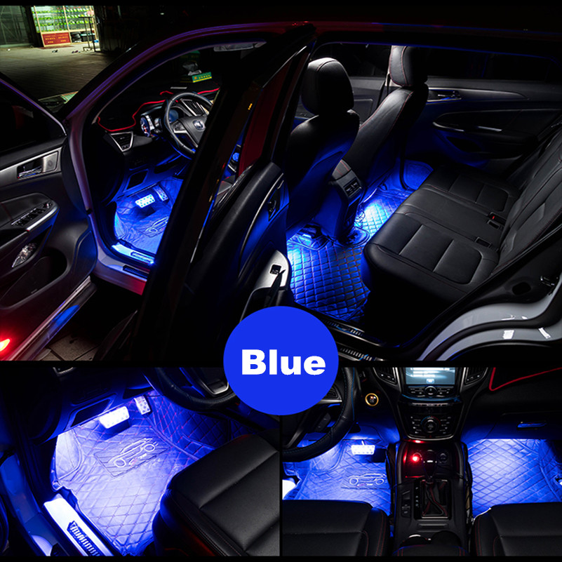 Awesome 4 In 1 Car Interior Led Lights For Mercedes Benz W203 W204 W205 W211 For  Porsche Cadillac ATS SRX CTS Lexus RX RX300  In Car Stickers From  Automobiles ...