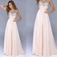 Dresses Sexy V Neck Women S Elegant Spaghetti Strap Sleeveless Floor Length Prom Party Dresses Ever