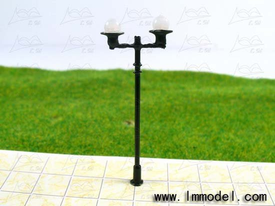 mdoel lamp, T47 lamppost for train layout HO scale.model building lamp, scale lamp,lamp