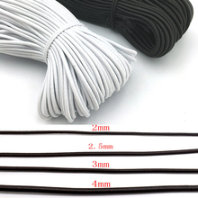 2mm/3mm/4mm/5mm Strong Elastic Rope Bungee Shock Cord Stretch String For DIY Jewelry Making Garment Sewing DIY Handmade Craft цена 2017