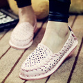 2017 New Spring And Summer Shoes Woman size(35-40)  Breathable Cut-outs Doug Shoes Soft Comfortable Slip-On Flats