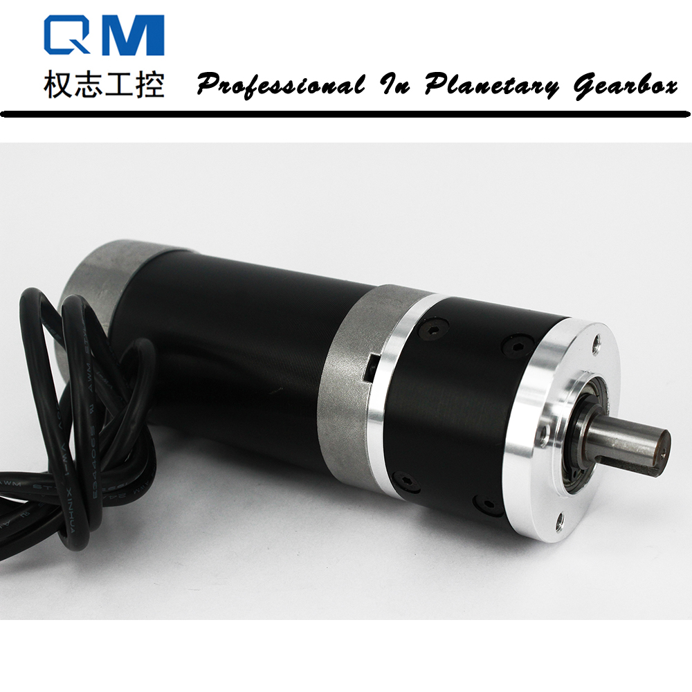 Gear dc motor planetary reduction gearbox ratio 3:1 nema 23 180W brushless dc motor 24V bldc motor high quality 5n m 42 42 119 7mm brushless dc motor with planetary gearbox reduction ratio 104 8