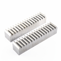 1 1.5M 2 Mod 1.5 Modulus 20*20 1000mm Straight / oblique teeth Steel Gear Rack  for Small Manufacturing Diy Drive|Linear Guides| |  -