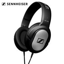 Sennheiser HD 201 3.5mm 유선 이어폰 폐쇄 형 다이나믹 오버 이어 헤드폰 스테레오 음악 헤드셋 소음 차단 게임 폰