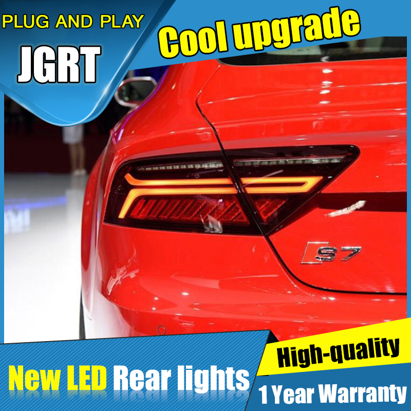 NEW Car styling Accessories for Audi A7 rear Lights led TailLight 2012 2017 for A7 Rear