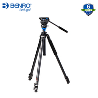 A2573FS4 aluminum alloy S4 damping two dimensional cloud stage camera photography dual use bird watching series tripod CD50