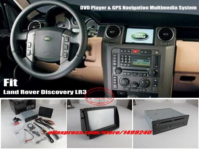 Для Land Rover Discovery 3 LR3 автомобиль gps NAVI навигация Системы стерео dvd плеер 8 HD Сенсорный экран Bluetooth iPod AUX USB