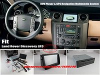 For Land Rover Discovery 3 LR3 Car GPS NAVI Navigation System Stereo DVD Player 8 HD Touch Screen Bluetooth iPod AUX USB
