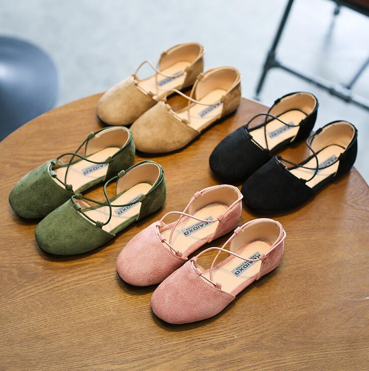35e1a01028b9fd New arrival Designs Summer sandals Girls Kids Sandals Pu Suede leather Baby  Girls Shoes child .