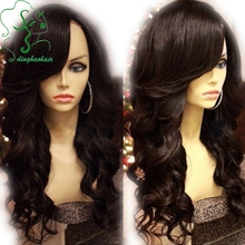 7A Grade 150% Density Body Wave Lace Front Wig Brazilian Full Lace Wigs for Black Women Glueless Human Hair Wigs With Bangs