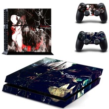 Anime Tokyo Ghouls PS4 Skin Sticker Decal Vinyl Voor Sony Playstation 4 Console En 2 Controllers PS4 Skin Sticker