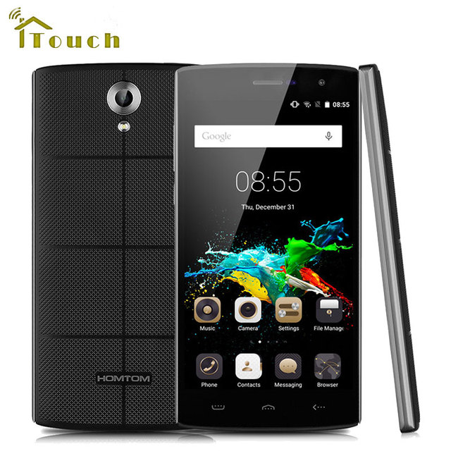 HOMTOM HT7 Android 5.1 MTK6580A Smartphone 1G RAM 8G ROM HD 1280x720 Mobile Phone 5.5 Inch 8.0MP