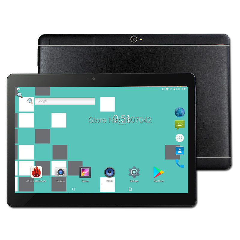 Free Shipping Original 10 Inch 4GB+32GB 3G/4G Phone Call SIM Card Android 9.0 Octa Core CE WiFi FM Tablet Pc  10 10.1