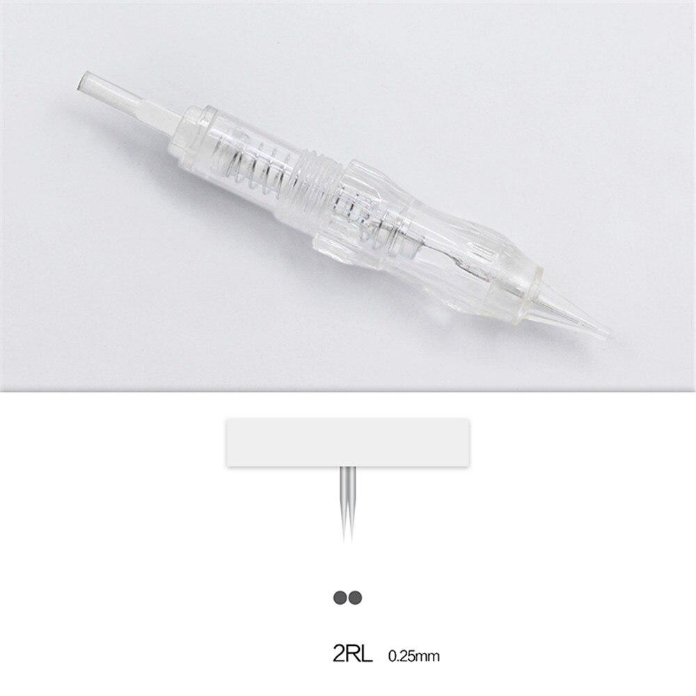 Biomaser 100PCS Revolution Tattoo Needles Permanent Makeup Catridges For Tattoo Machine Kit Eyebrow Needle 1R,2R,3RL,5RL 7RL-in Tattoo Needles from Beauty & Health    3