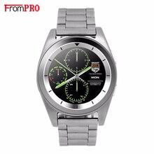 FROMPRO tira De Metal G6 Reloj Inteligente MTK2502 Smartwatch Sport Running Pulsómetro Bluetooth4.0 Rastreador de Llamadas para Android IOS