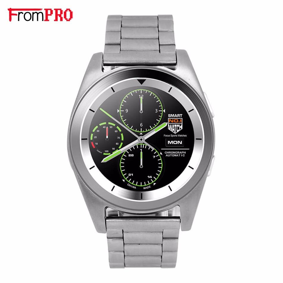 FROMPRO Metal strip G6 Smart Watch MTK2502 font b Smartwatch b font Sport Bluetooth4 0 Tracker