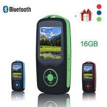 Original RUIZU X06 MP3 Bluetooth Wireless Hifi Reproductor de Música 16 GB Altavoz Deportes Lossless Grabadora Walkman Fm