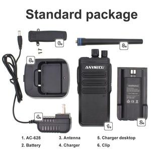 Image 5 - High Power 12W long distance walkie talkie ANYSECU AC 628 UHF Wireless Intercom analog 16CH scrambler Two Way Radio