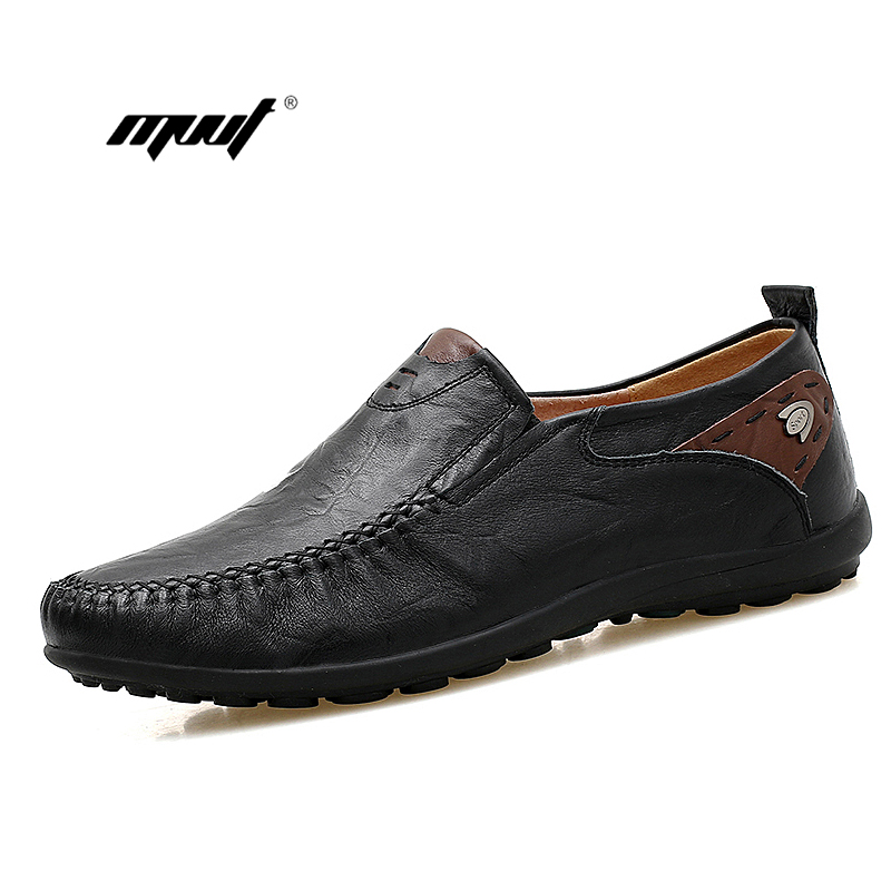 Genuine Leather Men shoes Handmade Driving Shoes,New Fashion Casual Shoes,Brand Design Flats Loafers For Men