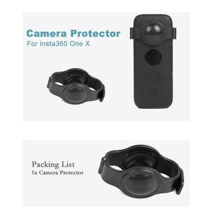 Image 5 - Diseño de hebilla resistente a los arañazos, Protector de lente de ojo de pez para Insta360 One X
