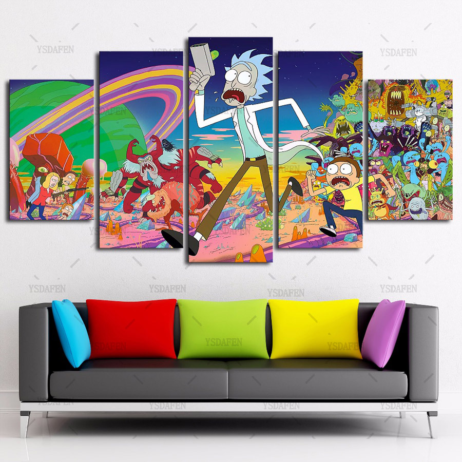 Canvas Painting Wall Pictures  Panels Wall Art
