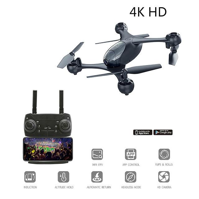 2019 nouveauté SMRC M6 4 K 1080 P Drone RC avec caméra Hd Mini quadrirotor avec Double caméra télécommande hélicoptère WIFI FPV