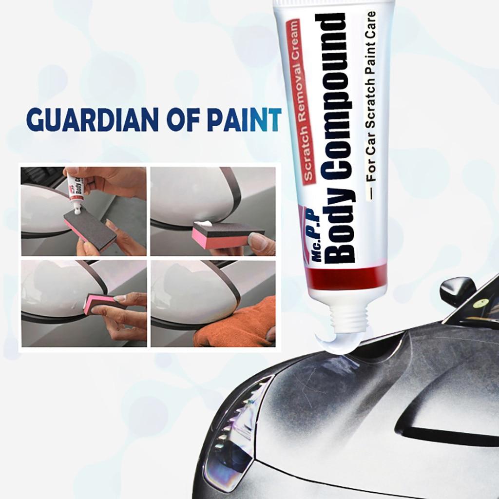 Car Styling Fix it Car Body Grinding Compound MC308 Paste Set Scratch Paint  Care Auto Polishing Car Paste Polish Car cleaning