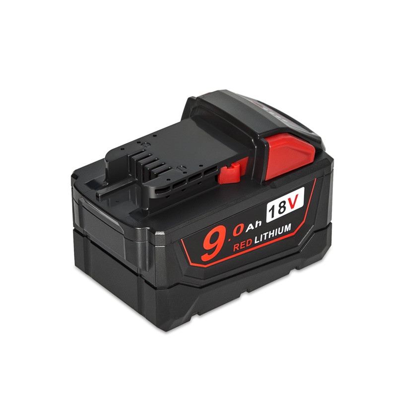 AIMIHUO Tool Battery 18V 9.0Ah Red Lithium High Demand Rechargeable Battery For Milwaukee 48-11-1890 M18 Replacement Tool Batte high quality power tool lithium battery charger replacement for milwaukee 14 4v 18v