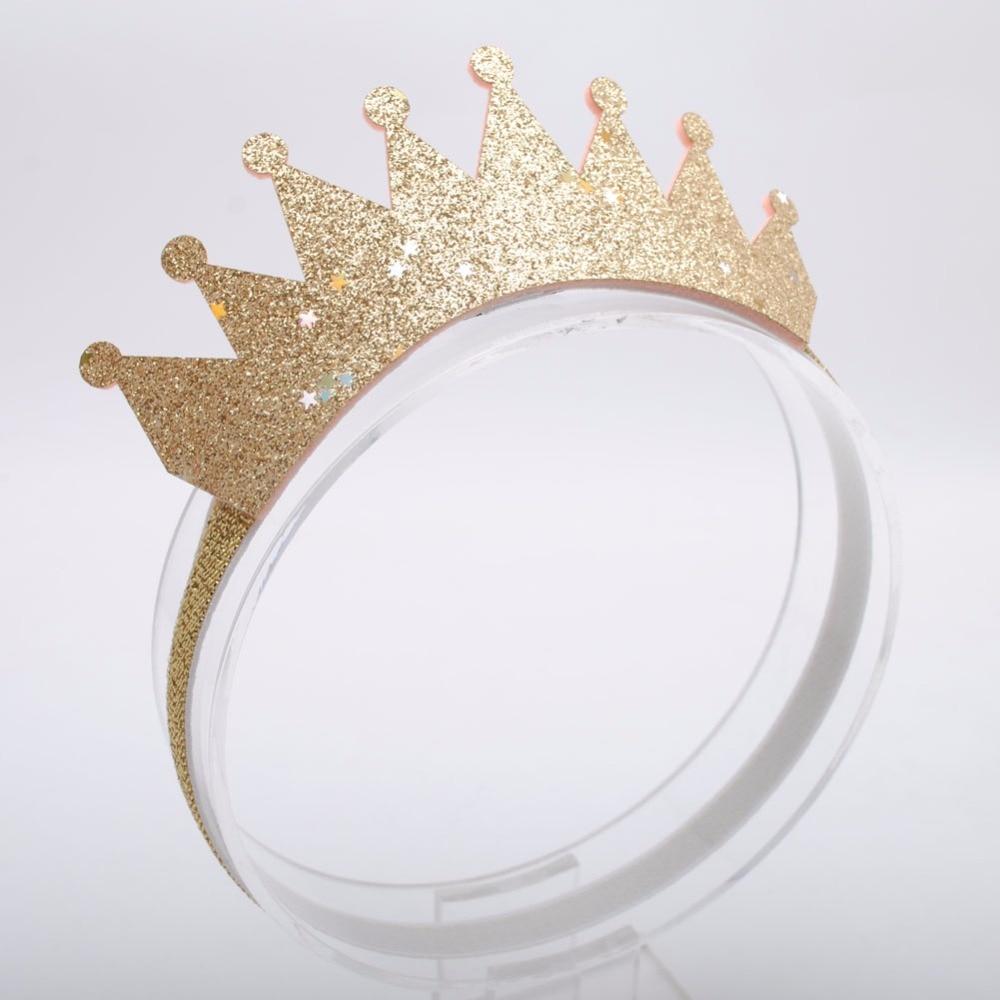 1 Piece Girls Hair Crown Headbands Glittering  Girls Hair Bands Hair Accessories Princess Tiara Headwear