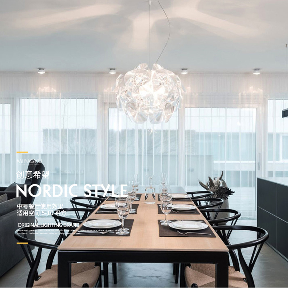 Modern Plastic Hope Dining Room Pendant Lamp Living Room Suspension Light Restaurant Clear Acrylic Apple Chandelier андерс томас мэй таня 100% андерс моя жизнь правда о modern talking hope и дитере болене