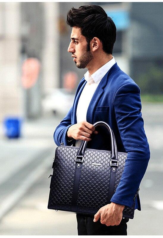 HTB1W0HhbBWD3KVjSZFsq6AqkpXa9 Double Layers Men's Microfiber Synthetic Leather Business Briefcase Casual Shoulder Bag Messenger Bag Laptop Handbag Travel Bag