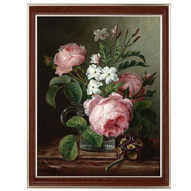 Golden Panno Needlework Embroidery DIY Floral Painting Cross stitch kits 14ct blending home Cross stitch Sets