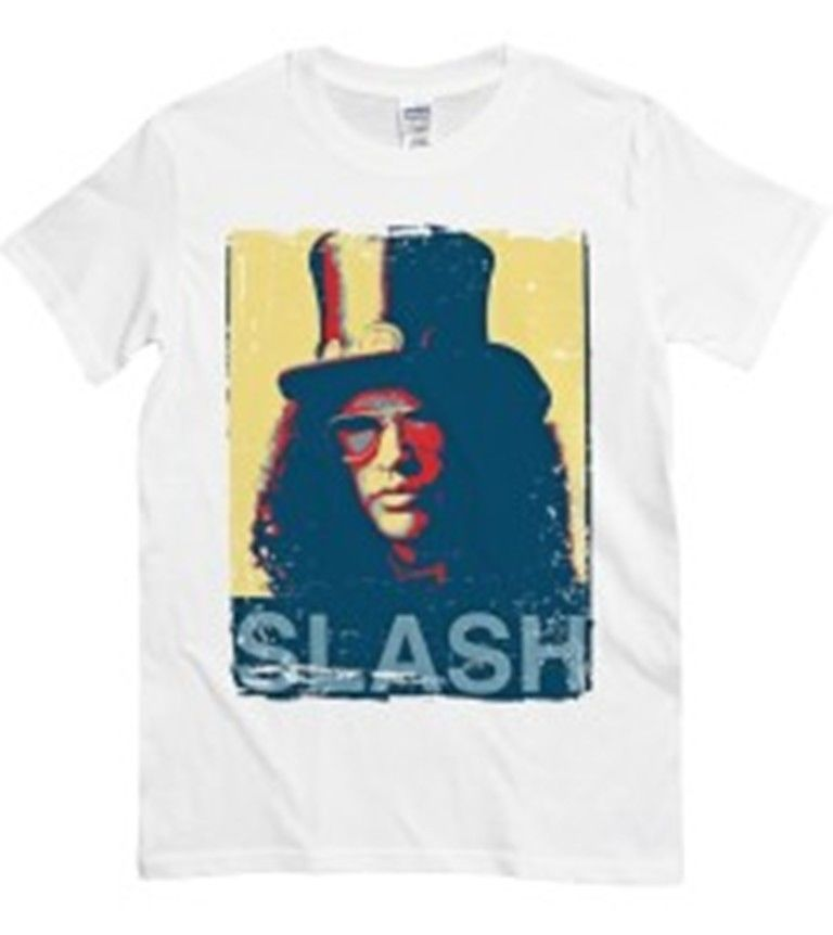 SLASH GUNS N ROSES POP ROCK MUSICA BIANCA