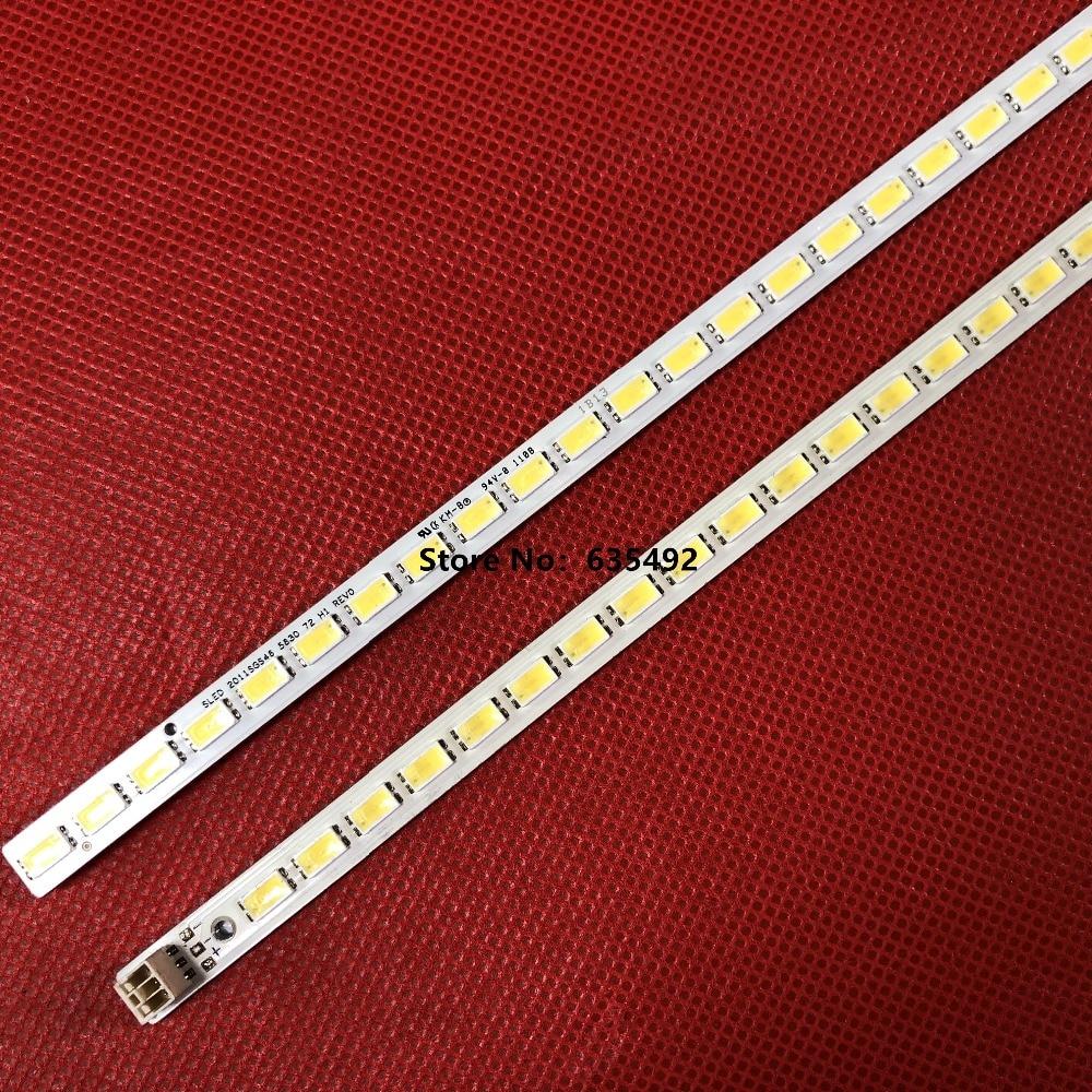 1set==2pieces 72leds 520mm 46-down Lj64-03035a Led Strip Sled 2011sgs46 5630 72 H1 Rev0 For Lta460hq12 Led46860ix Lta460h
