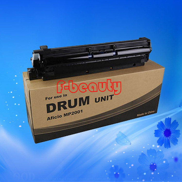 High quality black drum unit compatible for Ricoh AFICIO MP2001 2001L MP2501L 4pcs for ricoh aficio mp c2800 c3300 c4000 c5000 drum unit