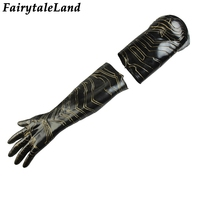 Avengers Infinity War Winter Soldier mechanical arm glove Halloween Cosplay Accessories fancy Cosplay glove Winter Soldier glove