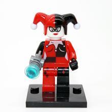 Wholesale XINH 178 Harley Quinn Minifigure DC Batman Clown Super Heroes Building font b Block b