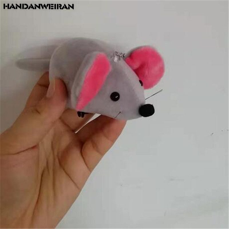 1PCS Cute Plush Big Ear Mouse Toy Small Pendant Creative Mini Doll Mice Toy Kids   Playmate Valentine Gifts Unisex Wholesale 10C