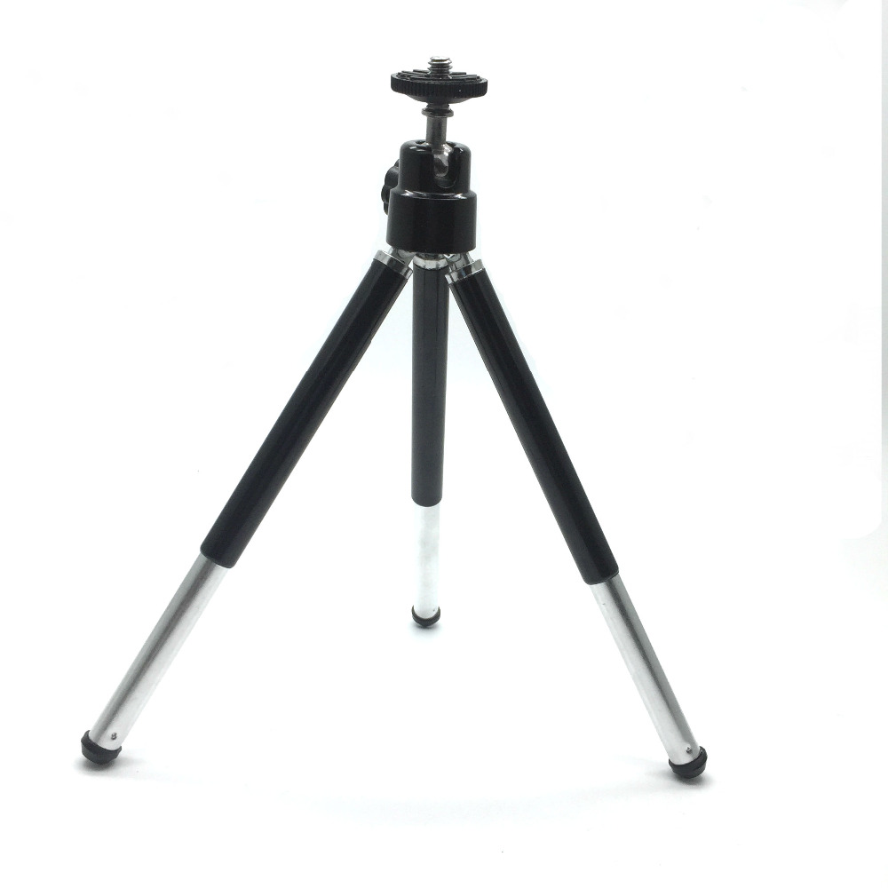 mini lightweight 2 sections table tripod stand selfie digital camera phone portable metal. Black Bedroom Furniture Sets. Home Design Ideas