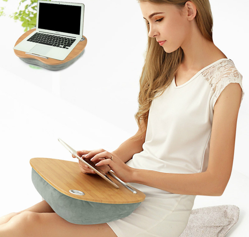 Portable Laptop Table Multifunctional Laptop Desk Lazy Man Table Bed Desk Outdoor Knee Flat Table Laptop Bed