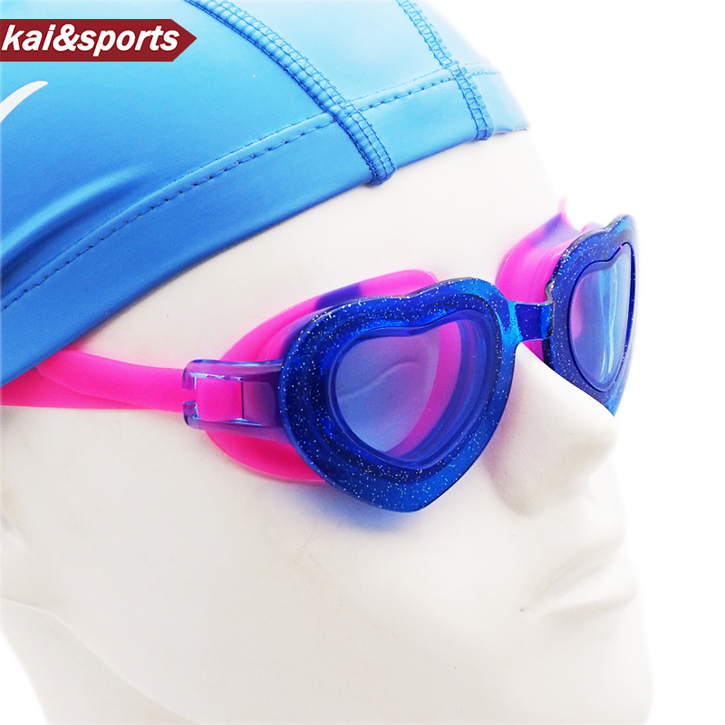 Quality Children Swimming Goggles Swim Glasses For Kids Child Eyewear For Swim Boy Girl Waterproof UV Lovely Heart Shape