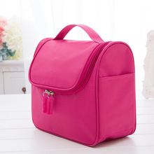 Waterproof cosmetic bag ladies fashion small square travel storage large essential wash