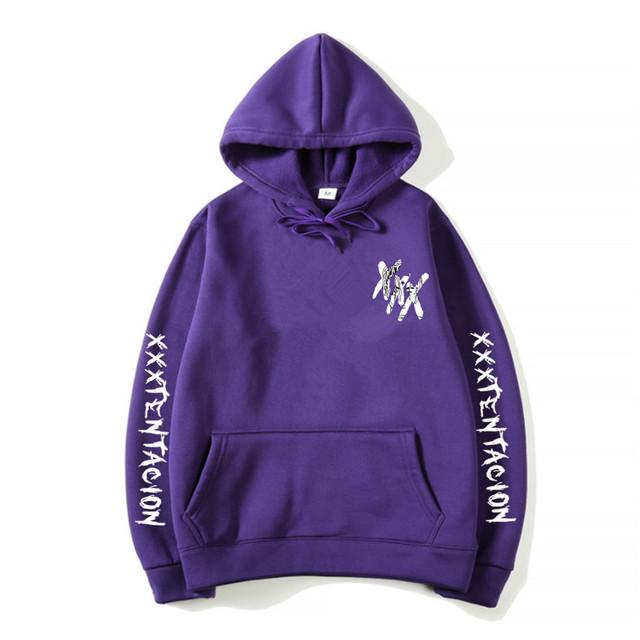 New Fashion Xxxtentacion Revenge Hoodies Men/Women Sweatshirts Rapper Hip Hop Hooded Pullover Sweatershirts Male/Women Clothes