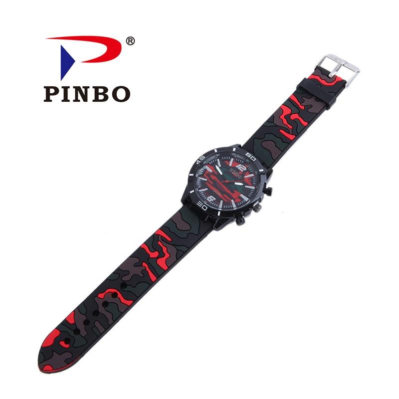 2017 Relogio masculino PINBO Marca Casual Reloj de Cuarzo Hombres - Relojes para hombres - foto 5