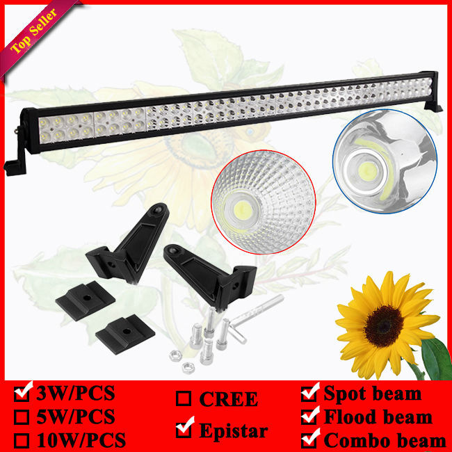 42inch 240W led offroad light bar used for 4wd Driving Tractor Boat Truck SUV ATV Car Garden Backyard 12V 24V LED Bar hello eovo 5d 32 inch curved led bar led light bar for driving offroad boat car tractor truck 4x4 suv atv with switch wiring kit