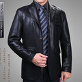 Mens Clothing Work Coat 2016 New Fashion Jackets Outerwear Coats 4XL Plus Size Leather Coat Autumn And Winter Man Leather Jacket
